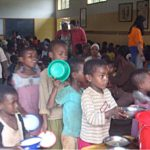 mensa dei poveri di Dilla